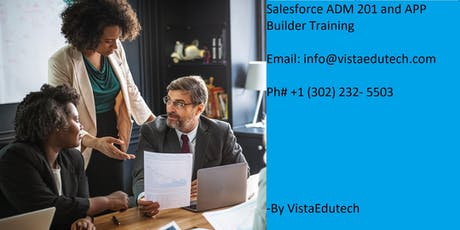 Salesforce ADM 201 Certification Training in Parkersburg, WV tickets