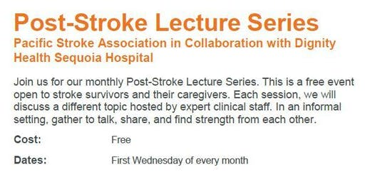 Post-Stroke Lecture Series