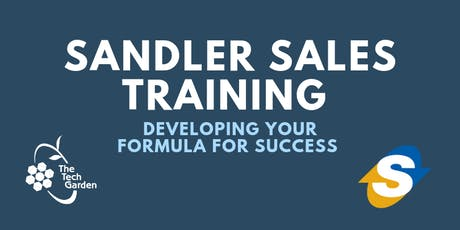 Sandler Sales Training - TTG Members Only tickets