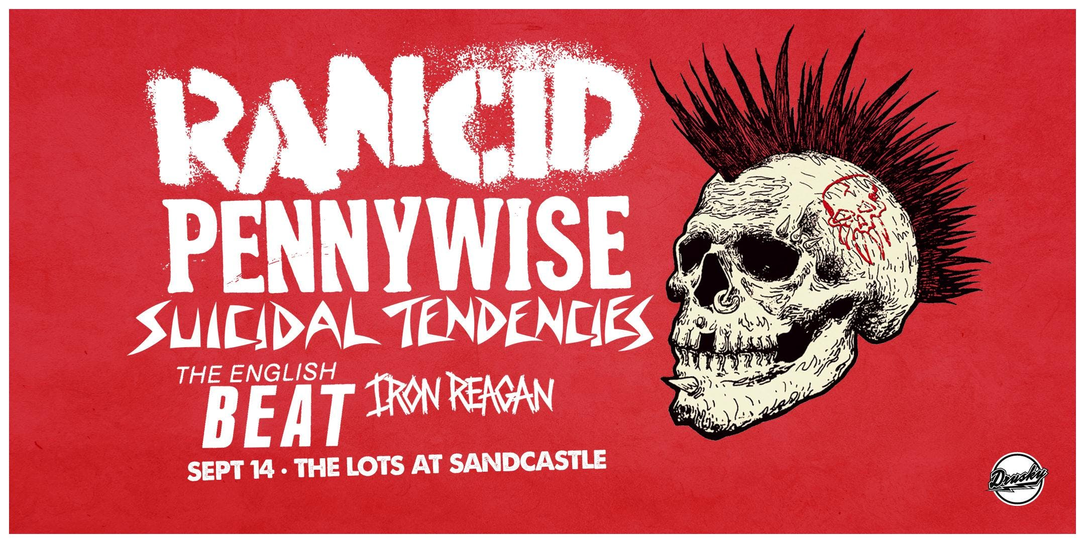 Rancid with special guest Pennywise – Tickets – The Lots at