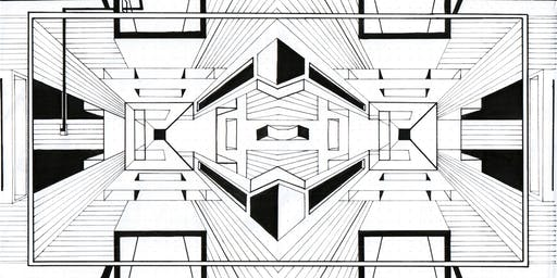 """""""Ink meets Geometry"""" Zeichen-Workshop – München"""