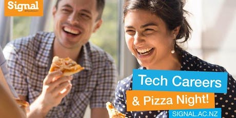 Tech Careers Pizza Night - Christchurch 15 August tickets