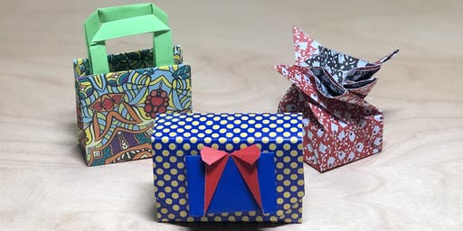 Origami Boxes and Containers