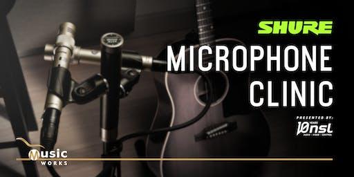 Shure Microphone Clinic