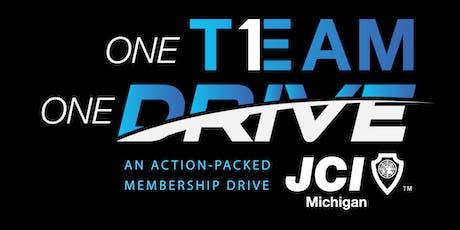 One Team One Drive: JCI Michigan Membership Drive tickets