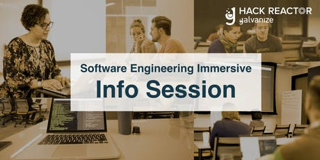 Software Engineering Immersive Info Session tickets
