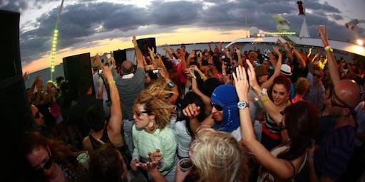 Manhattan Booze Cruise Saturday Yacht party at Skyport Marina Cabana Yacht