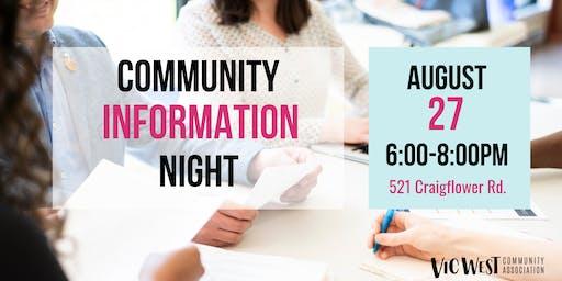 VWCA Community Info Night