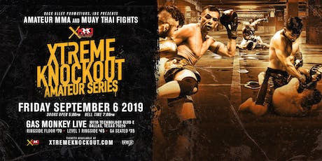 Xtreme Knockout Amateur Series tickets