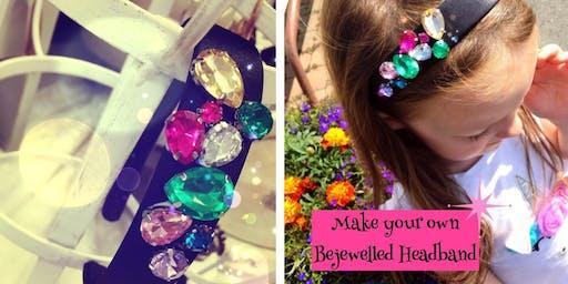 Mini Makers~Bejewelled Headband Fun!