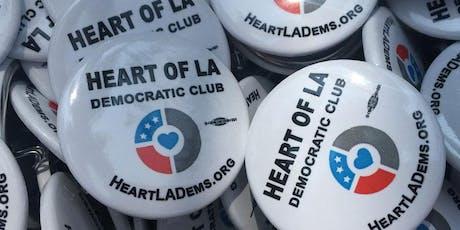 Heart of LA Democratic Club Membership Meeting - September 4, 2019 tickets