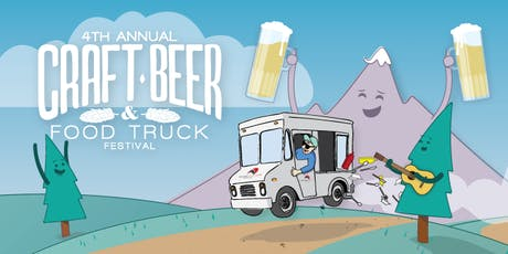 4th Annual Craft Beer & Food Truck Festival tickets