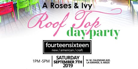 A Roses and Ivy Rooftop Day Party tickets