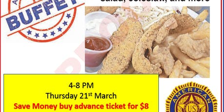 Catfish and Pinto Beans tickets