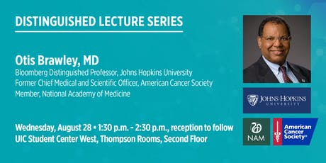 Otis Brawley, MD - Cancer Control in the 21st Century tickets