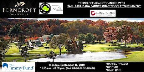 Tall Paul Dana-Farber Golf Tournament tickets
