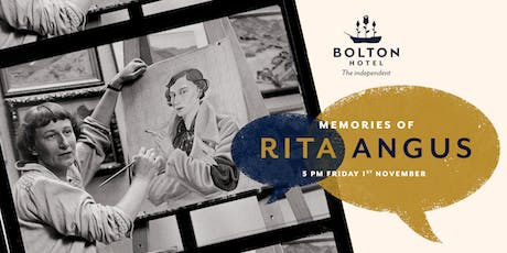 Memories of Rita Angus tickets
