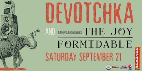 DeVotchKa and The Joy Formidable tickets
