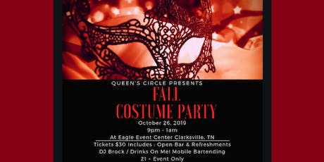 Fall Costume Party tickets