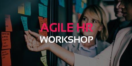 Agile HR Workshop São Paulo ingressos
