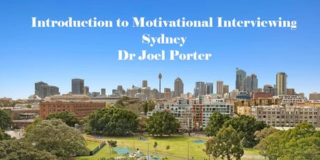 Introduction To Motivational Interviewing - Sydney tickets
