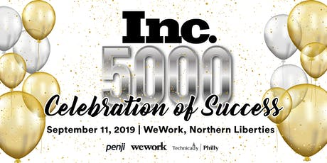 Inc. 5000's - Celebration of Success tickets