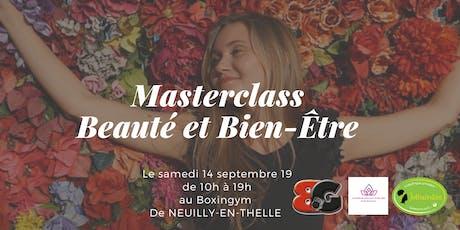 Masterclass Beauté et Bien-Être Boxingym tickets