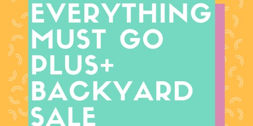 Raleigh Edition: Everything MUST go Plus size yard sale