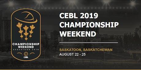 Canadian Elite Basketball Championship Weekend - Volunteer Registration tickets