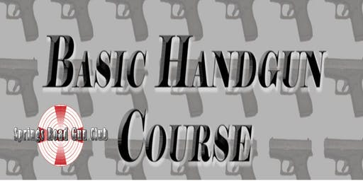 Basic Handgun Course