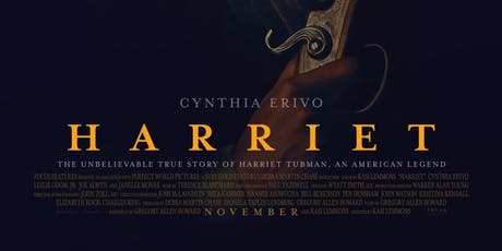 """Harriet Tubman """"All Black Attire"""" Movie Night tickets"""
