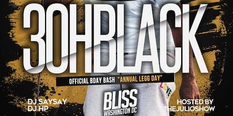 Leo Bday Bash + 3ohBlack Annual Bday Bash tickets