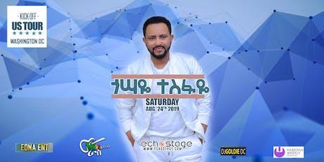 Gossaye Tesfaye US Tour 2019 tickets