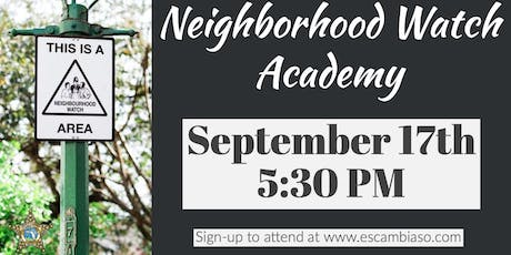 Neighborhood Watch Academy tickets