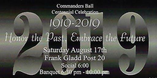 Commanders Ball 100th Birthday Celebration!