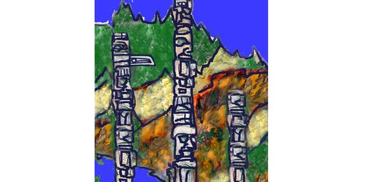 West Coast Totems - Paint & Sip Night - Snacks Included