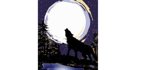 Wolf Moon - Paint & Sip Night - Snacks Included tickets