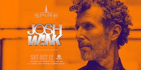 Josh Wink / Saturday October 12th / Spire Moroccan Room tickets