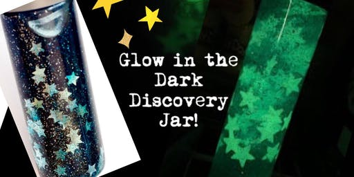 Wow! Glow in the Dark Galaxy in a Jar!!