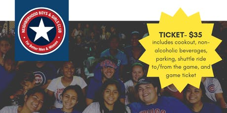 NBGC's 2019 Cubs Night tickets