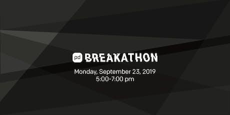 Breakathon at PagerDuty Summit19 tickets