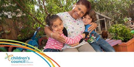 Early Educator Workshop: Inscripción de nuevas familias  20191102 tickets