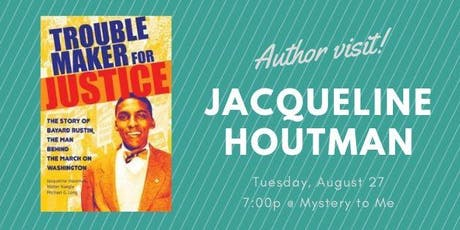 Author Visit: Jacqueline Houtman tickets