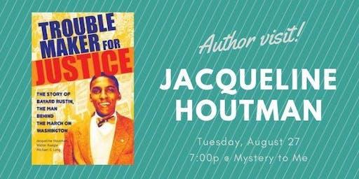 Author Visit: Jacqueline Houtman