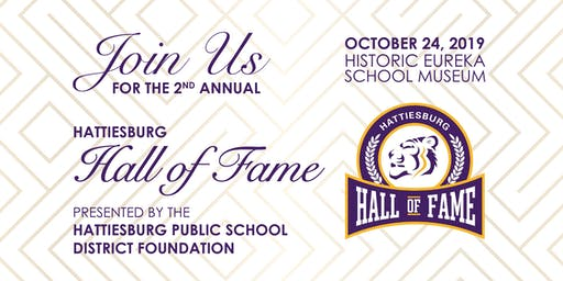Hattiesburg Hall of Fame Gala - 2019