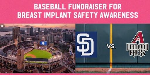 Breast Implant Safety Night at Petco Park - Padres Vs. Diamond Backs!
