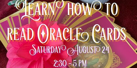 Oracle Card Reading Class tickets