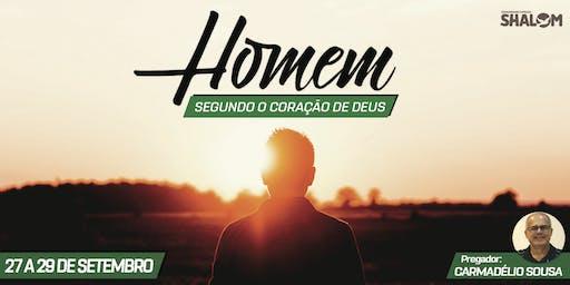 """Retiro """"Homem segundo o coração de Deus"""""""