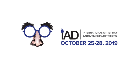 2019 International Artist Day - IAD Anonymous Art Show at 100 Braid