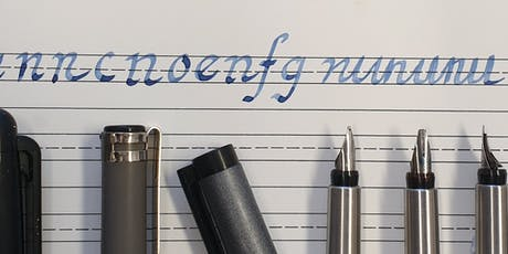 Calligraphy Workshop with Don Hunt - Gothic Script tickets